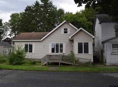 Watervliet Single Family Home For Sale: 1308 8th Av