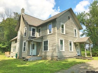 Mechanicville, Stillwater Single Family Home For Sale: 69 County Rt 70