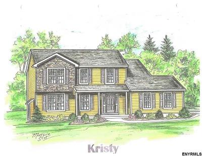 Poestenkill Single Family Home For Sale: Lot 1 Quail Meadow Dr