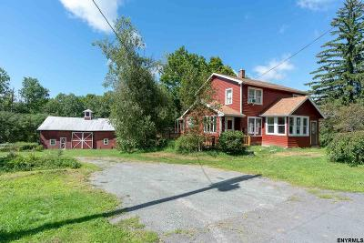Rensselaer County Single Family Home For Sale: 755 State Route 43