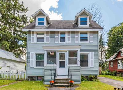 Gloversville NY Single Family Home For Sale: $59,900