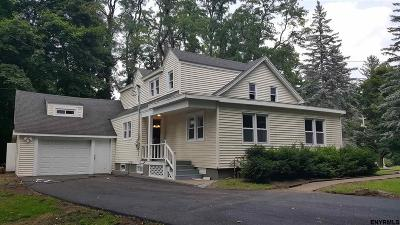 Niskayuna Single Family Home For Sale: 1840 Union St
