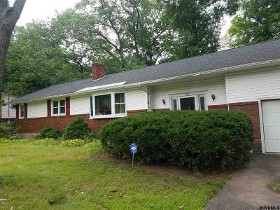 Schenectady Single Family Home For Sale: 828 Harris Dr