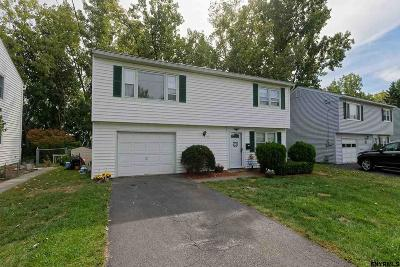 Colonie Single Family Home Price Change: 21 Pawling St