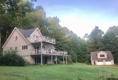 Rensselaer County Single Family Home For Sale: 5372 South Stephentown Rd