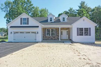 Saratoga County Single Family Home For Sale: 14 America Way