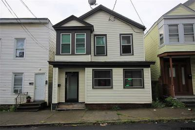 Cohoes Single Family Home For Sale: 44 White St