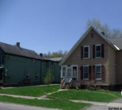 Gloversville NY Single Family Home For Sale: $28,800
