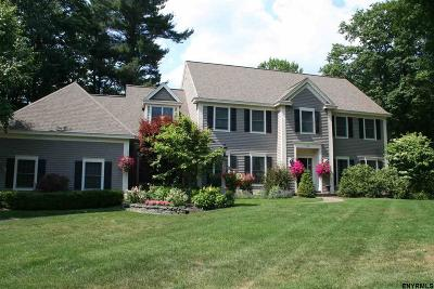 Saratoga County, Albany County Single Family Home For Sale: 701 Waldens Pond Rd
