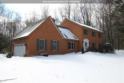 Saratoga County Single Family Home For Sale: 2089 Cook Rd