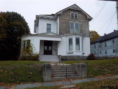 Gloversville NY Multi Family Home For Sale: $95,000