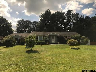 Niskayuna Single Family Home For Sale: 829 Northumberland Dr