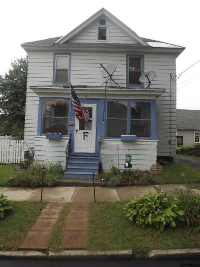 Gloversville Single Family Home For Sale: 21 Van Wyck St