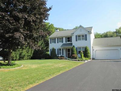 Halfmoon Single Family Home For Sale: 25 Nadeau Rd