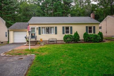 Bethlehem Single Family Home For Sale: 57 Alden Ct