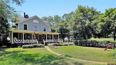 Saratoga Springs Single Family Home For Sale: 120 High Rock Av