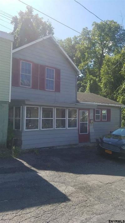 Cohoes Single Family Home For Sale: 4 John St