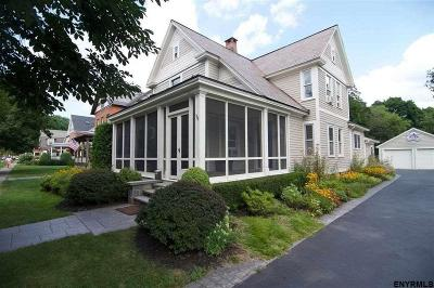 Saratoga Springs NY Single Family Home For Sale: $739,000