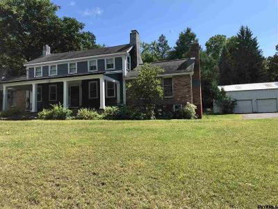 Rensselaer County Single Family Home For Sale: 20 Macarthur Dr