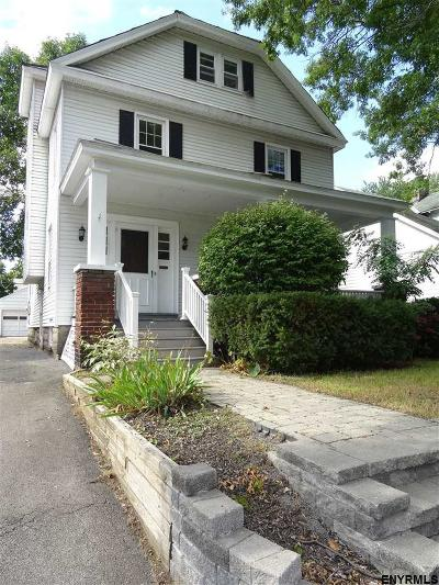 Schenectady Single Family Home For Sale: 745 Decamp Av