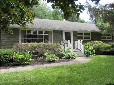Niskayuna Single Family Home For Sale: 1048 Merlin Dr