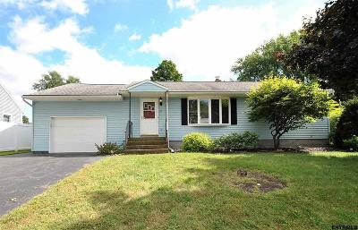 Colonie Single Family Home New: 22 Marriner Av