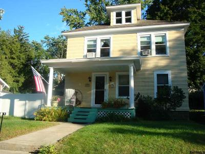 Schenectady Single Family Home For Sale: 534 Plymouth Av