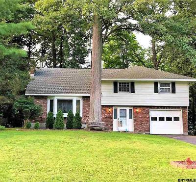 Clifton Park Single Family Home For Sale: 33 Wheeler Dr