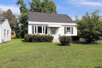 Amsterdam NY Single Family Home For Sale: $117,500