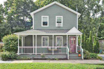 Saratoga Springs Single Family Home For Sale: 23 Warren St