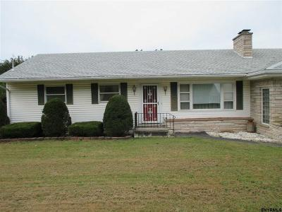 Rensselaer County Single Family Home New: 33.5 Milky Way Rd