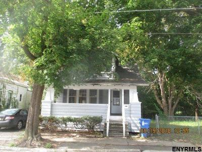 Albany NY Single Family Home New: $49,900