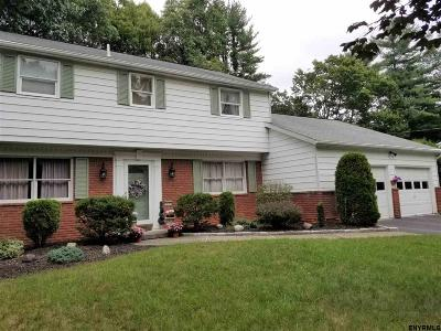 Saratoga County Single Family Home For Sale: 17 Southwood Dr
