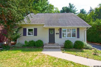 Albany NY Single Family Home New: $195,000