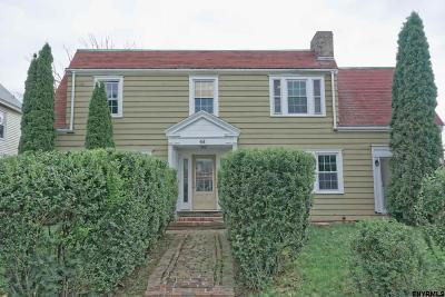 Albany NY Single Family Home New: $225,000