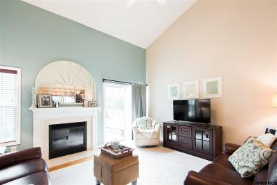 Halfmoon Single Family Home Price Change: 37b Pointe West Dr