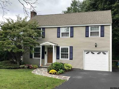 Niskayuna Single Family Home New: 2123 McClellan St