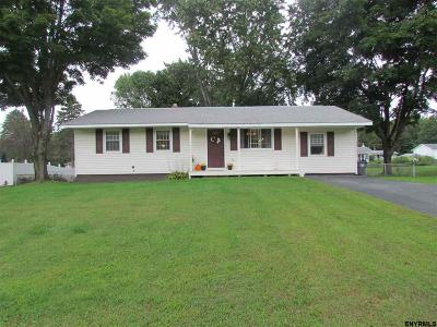 Rensselaer County Single Family Home New: 2021 Piney Point Rd