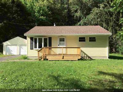 Castleton-On-Hudson NY Single Family Home New: $184,000
