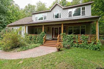 Rensselaer County Single Family Home For Sale: 1130 Reservoir Lake Rd