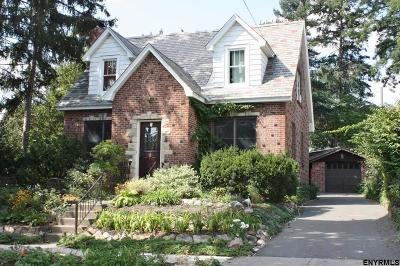 Albany NY Single Family Home New: $185,000