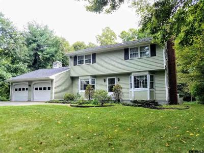 Rensselaer County Single Family Home For Sale: 2416 Old Coach Dr