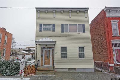 Watervliet Single Family Home For Sale: 1822 4th Av