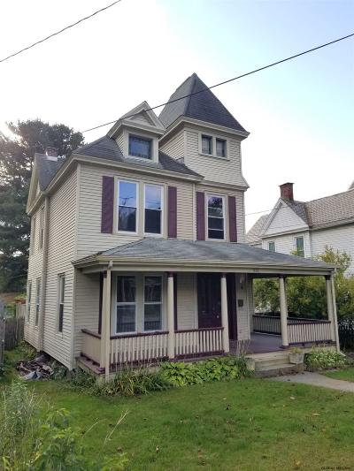 Troy Single Family Home For Sale: 268 Pawling Av