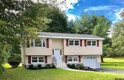 Halfmoon Single Family Home For Sale: 66 Guideboard Rd