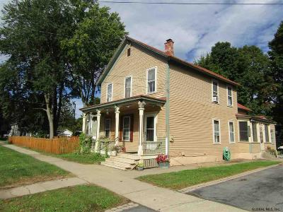 Saratoga Springs Single Family Home For Sale: 79 Lincoln Av