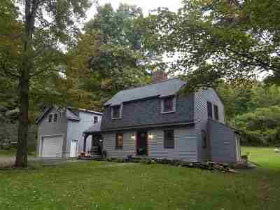Greenfield, Corinth, Corinth Tov Single Family Home For Sale: 331 Daniels Rd