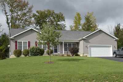 Mechanicville, Stillwater Single Family Home For Sale: 50 Gurba Dr