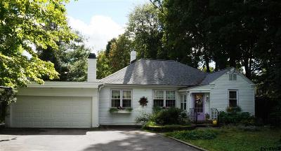 Saratoga Springs Single Family Home For Sale: 324 Lake Av