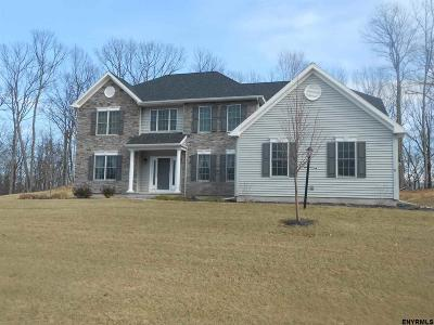 Niskayuna Single Family Home For Sale: Lot 3 Rosendale Rd